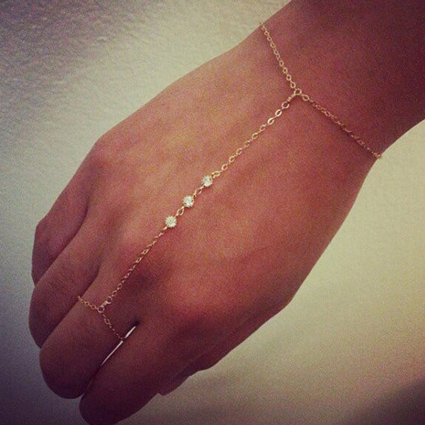 Boho Finger Chain