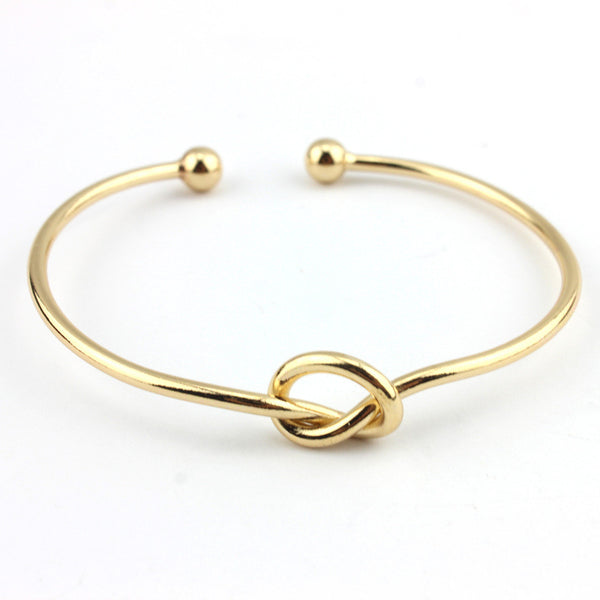 Forever Entwined By Love Bangle