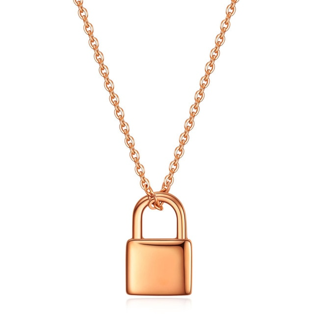 The Boho Padlock Necklace