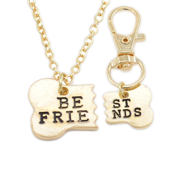 Best Friends Necklace & Dog Chain