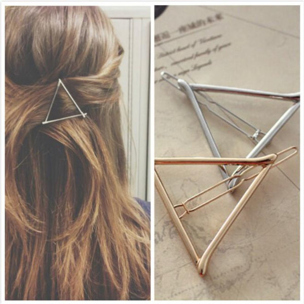 Boho Triangle Hair Clip