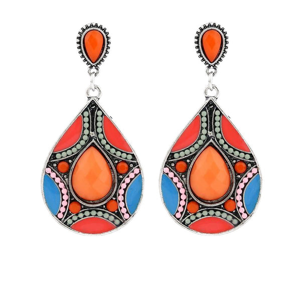 Water Drop Boho Earrings