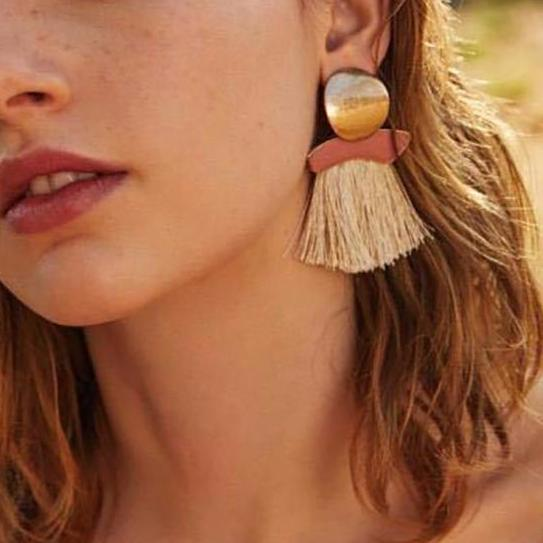Boho Tassel Drop Earrings
