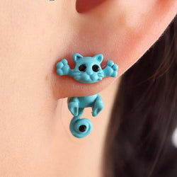 Happy Cat Boho Earrings