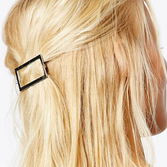 Boho Rectangle Hair Clip