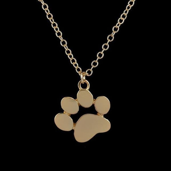 Kitty Cat Paw Necklace