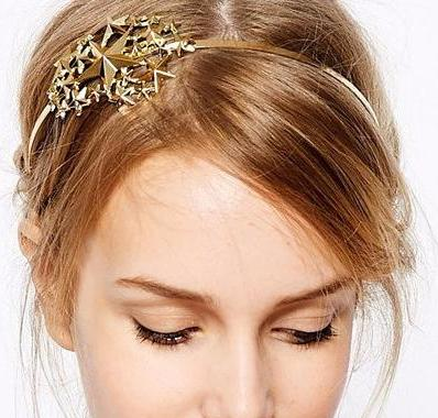 Gold Bridal Boho Headpiece