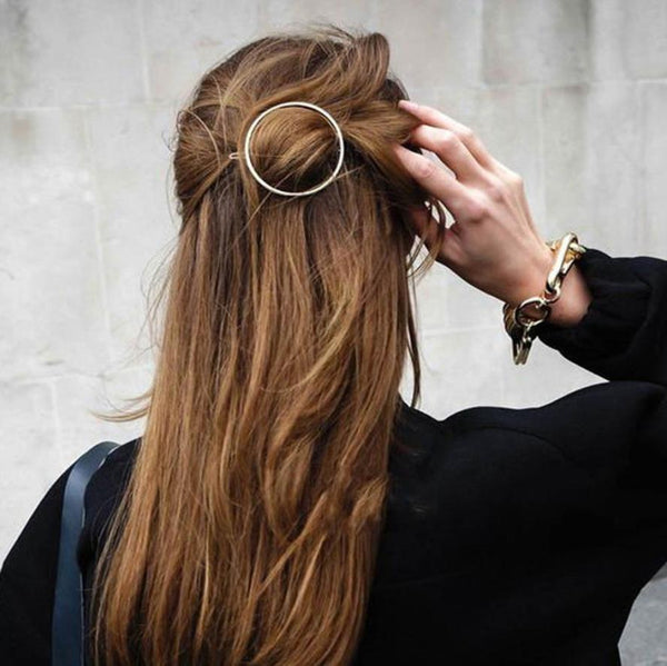 Hollow Hoop Boho Hairpin