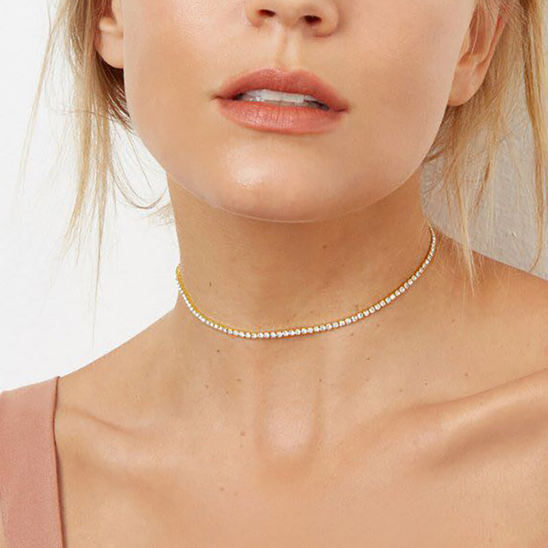 Single Row Boho Choker