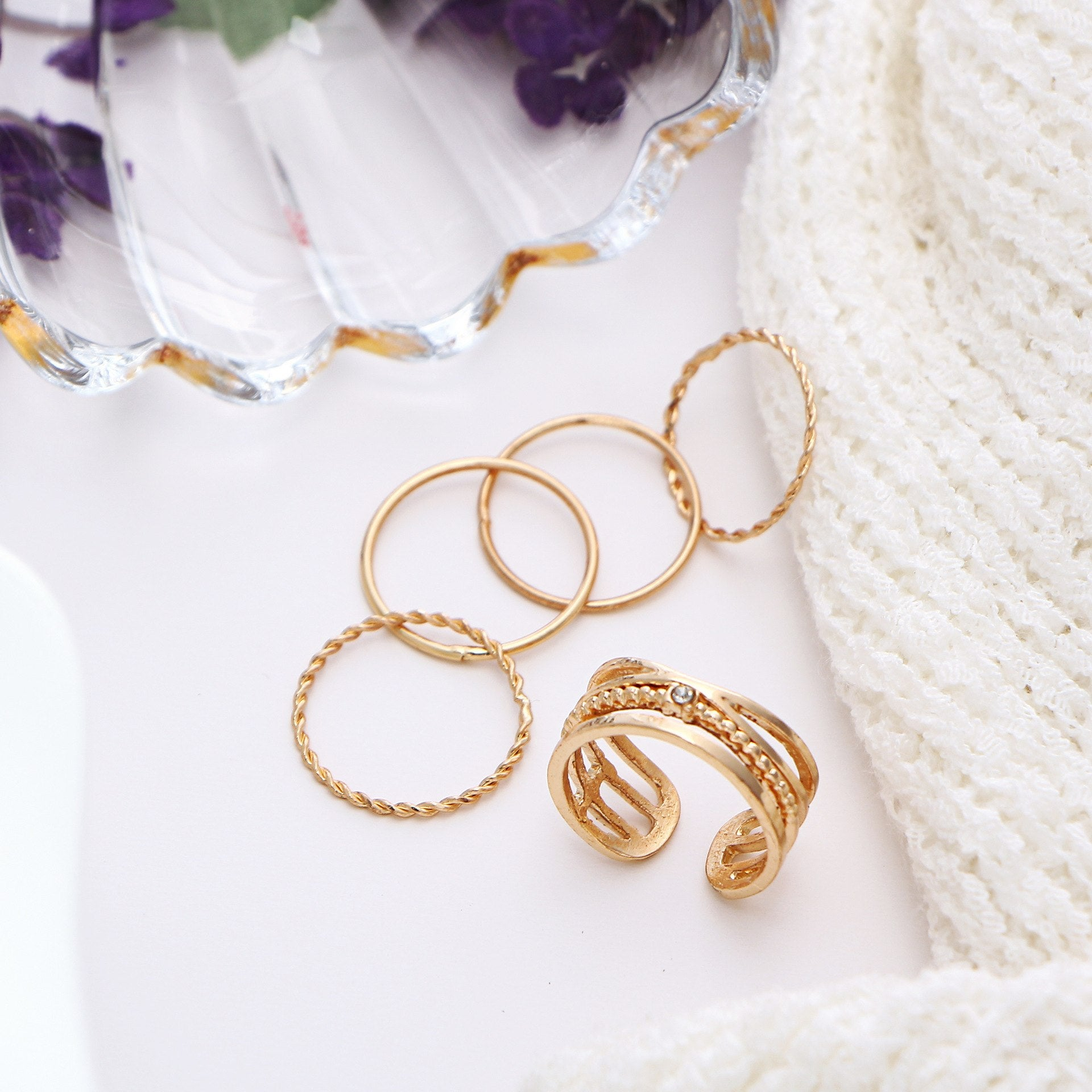 Knuckle Ring Set