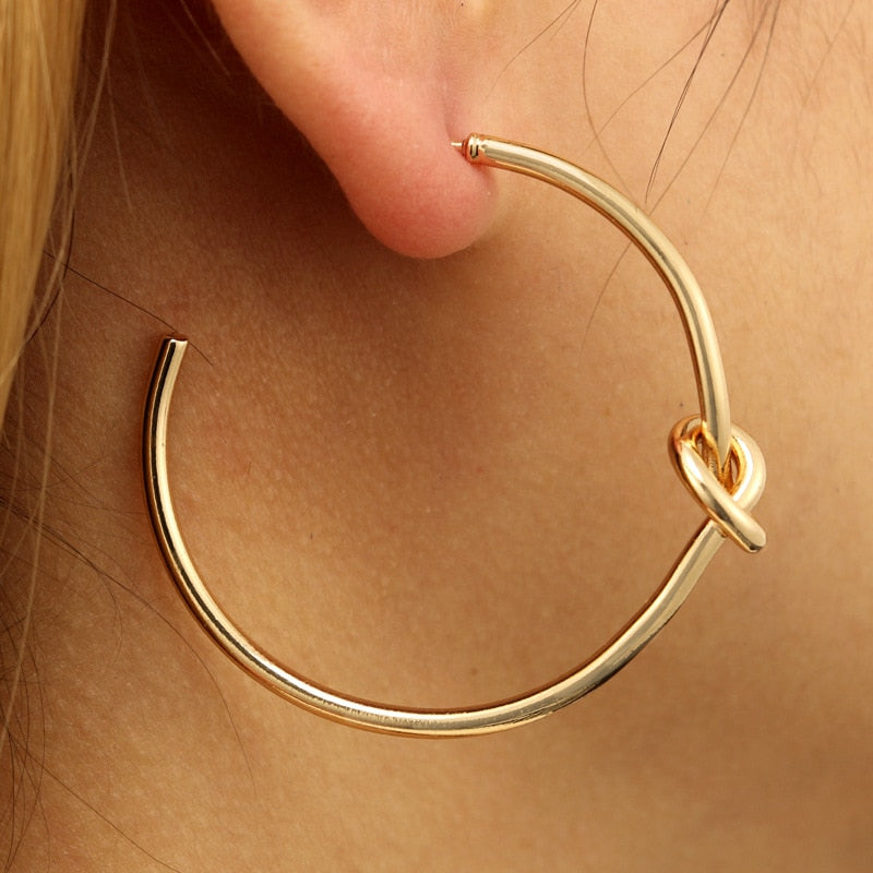 Classic Knotted Hoops