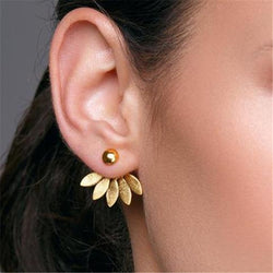 Flower Boho Stud Earrings