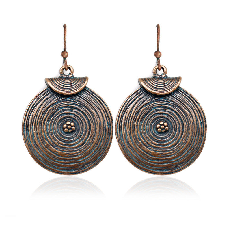 Healing Water Disc Earrings