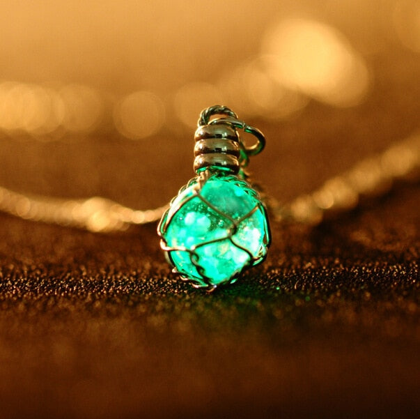 Glowing Light Boho Necklace