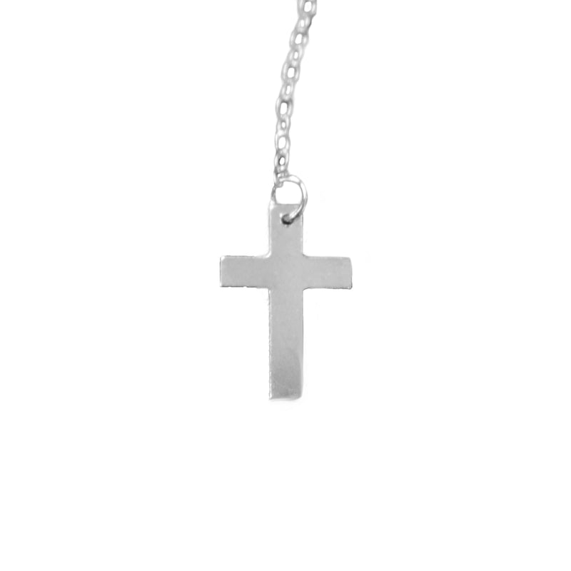 Small Cross Boho Necklace