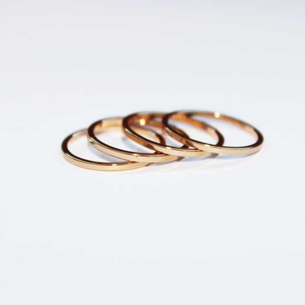 Dainty Stacking Midi Ring Set