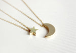 To The Moon & Stars Necklace