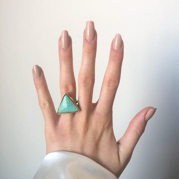 Love Triangle Boho Ring