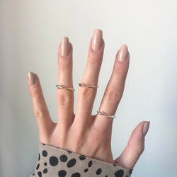 Double Arrow Boho Ring
