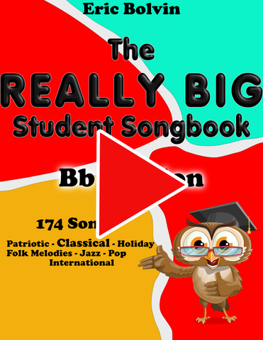 The Really Big Student Songbook - Bb Edition