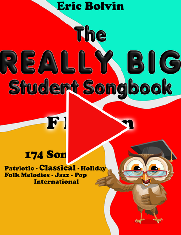 The Really Big Student Songbook F-Edition