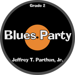 'Blues Party' by Jeffrey Parthun. Grade 2 sheet music for school bands
