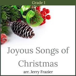 'Joyous Songs of Christmas' by Jerry Frazier. Holiday Music sheet music for school bands