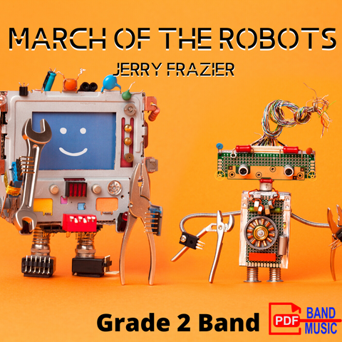 March of the Robots by Jerry Frazier