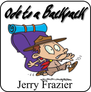 'Ode to a Backpack' by Jerry Frazier. Beginning Band sheet music for school bands