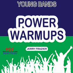 'Power Warmups' by Jerry Frazier. Pep Band sheet music for school bands