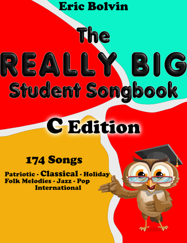 The Really Big Student Songbook - C edition
