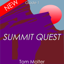 'Summit Quest' by Tom Molter. Grade 1 sheet music for school bands