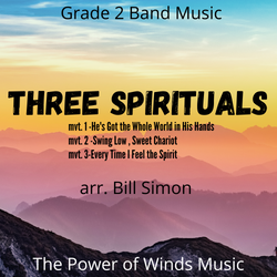 Three Spirituals arranged by Bill Simon