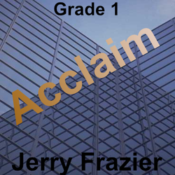 """Acclaim"" - composed by Jerry Frazier,  Performance Level = Grade 1.  Band sheet music downloadable instantly in PDF format.  Cost = $ 24."