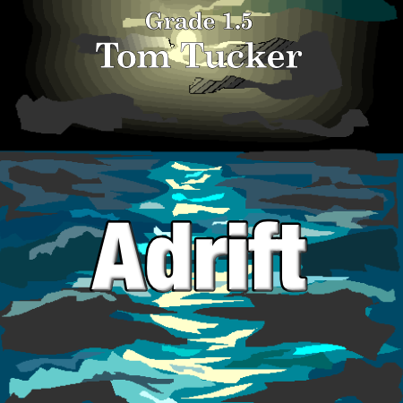 'Adrift' by Tom Tucker. Grade 1 sheet music for school bands