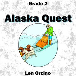 'Alaskan  Quest' by Len Orcino. Grade 2 sheet music for school bands