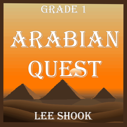 'Arabian Quest' by Lee Shook. Grade 1 sheet music for school bands