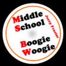 'Middle School Boogie Woogie' by Jerry Frazier. Grade 1 sheet music for school bands
