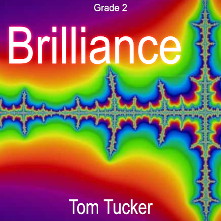 'Brilliance' by Tom Tucker. Grade 2 sheet music for school bands