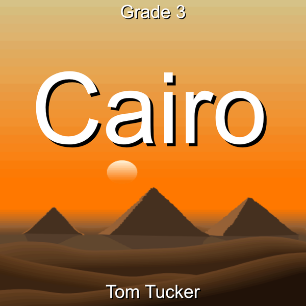 'Cairo' by Tom Tucker. Grade 3 sheet music for school bands