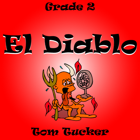 """El Diablo"" - composed by Tom Tucker,  Performance Level = Grade 2.  Band sheet music downloadable instantly in PDF format.  Cost = $ 24."