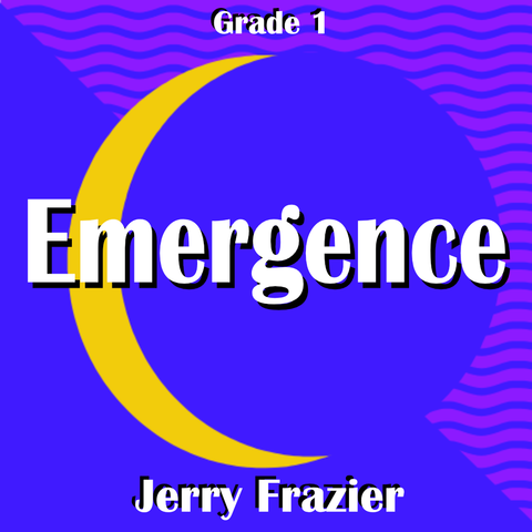 """Emergence"" - composed by Jerry Frazier,  Performance Level = Grade 1.  Band sheet music downloadable instantly in PDF format.  Cost = $ 24."