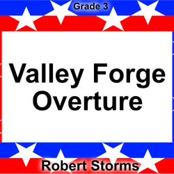 'Valley Forge' by Robert Storms. Grade 3 sheet music for school bands