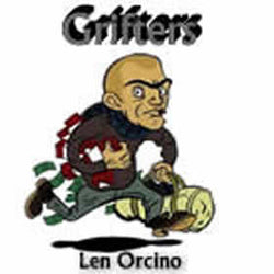 'Grifters' by Len Orcino. Grade 3 sheet music for school bands