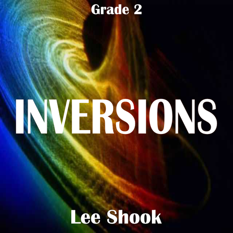 'Inversions' by Lee Shook. Grade 2 sheet music for school bands