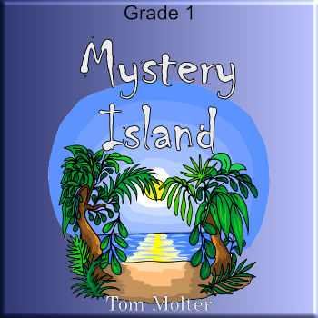 """Mystery Island"" - composed by Tom Molter,  Performance Level = Grade 1.  Band sheet music downloadable instantly in PDF format.  Cost = $ 24."