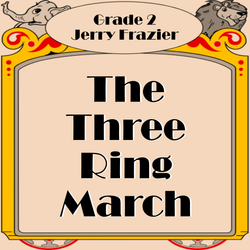 'The Three Ring March' by Jerry Frazier. Grade 2 sheet music for school bands