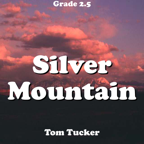 """Silver Mountain"" - composed by Tom Tucker,  Performance Level = Grade 2.  Band sheet music downloadable instantly in PDF format.  Cost = $ 24."