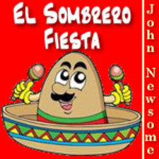 """El Sombrero Fiesta"" - composed by John Newsome,  Performance Level = Grade 2.  Band sheet music downloadable instantly in PDF format.  Cost = $ 24."
