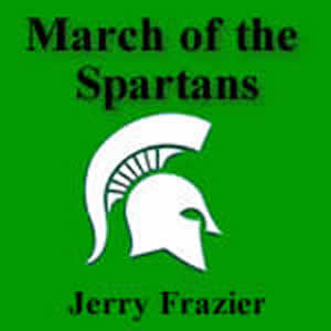 'March of the Spartans' by Jerry Frazier. Grade 1 sheet music for school bands